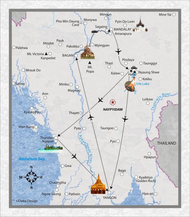 15 Tage Myanmar - Einblick in das alte Burma