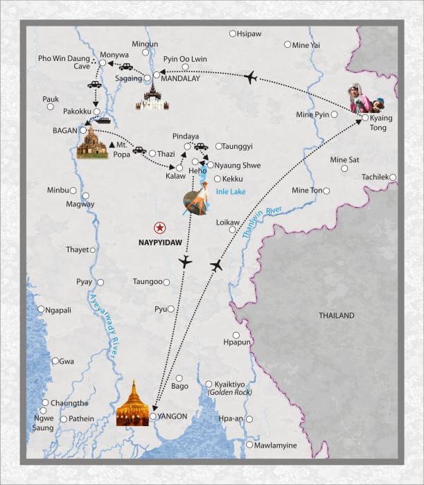 17 Tage Myanmar, mit Kyaing Tong