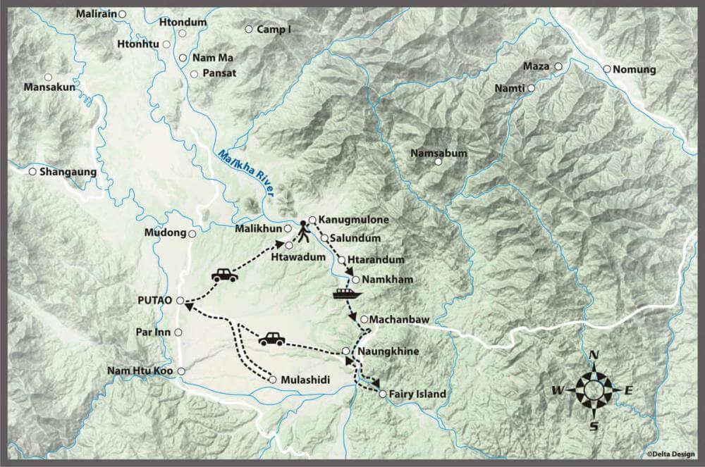 4 days Putao - The Rawang Trail