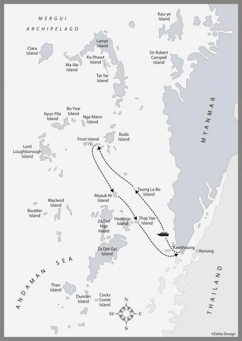 5 days Mergui Archipelago