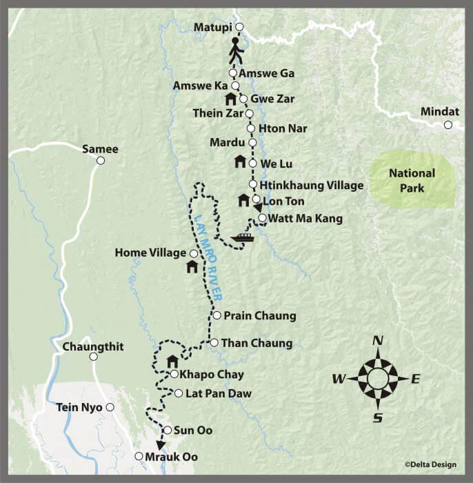 8 Tage von Matupi nach Mrauk Oo