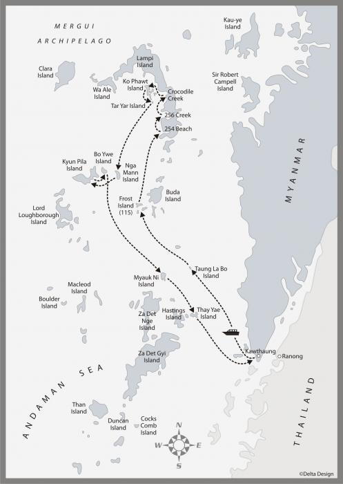 8 days Mergui Archipelago