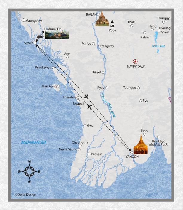 Verlaengerung 6 Tage Rakhine Staat