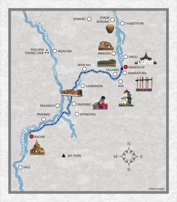 3 days from Bagan to Mandalay_3