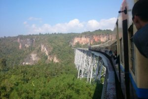 Gokteik-Eisenbahn-Viadukt