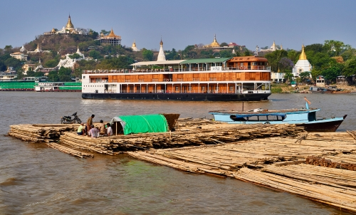 Myanmar Flusskreuzfahrt von Mandalay nach Bagan
