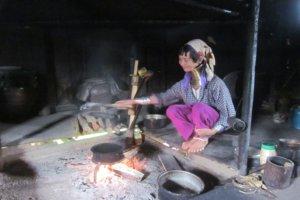Padaung-Frau im Kayah Staat