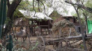 Dorf in der Naehe von Shin Bin Ngar Man Aung