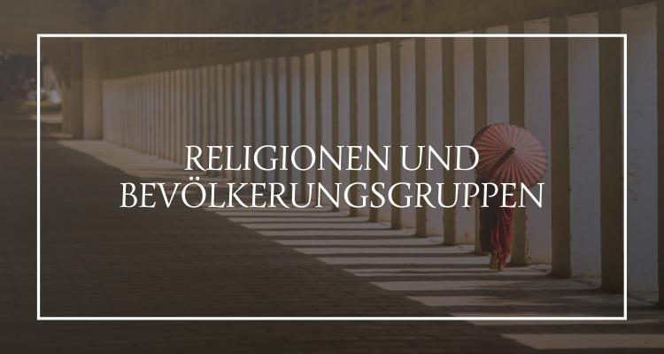 Religionen und Bevölkerungsgruppen