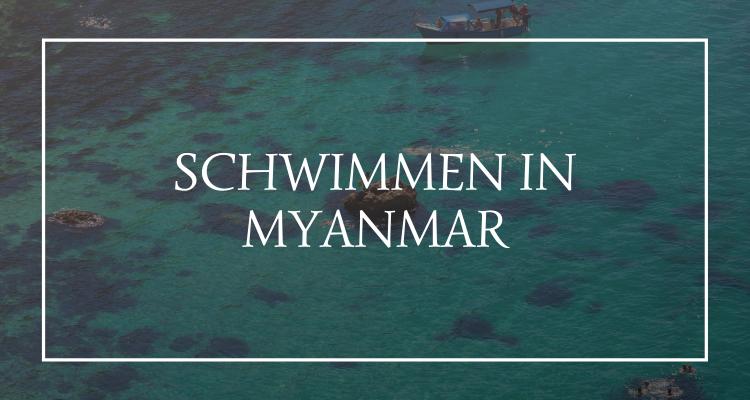 Schwimmen Myanmar