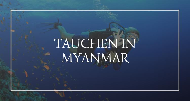 Tauchen Myanmar